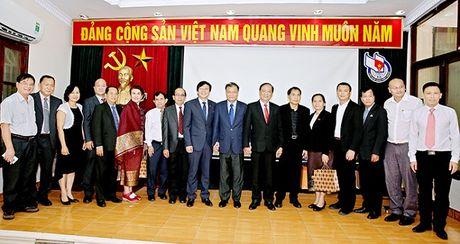 Hoi Nha bao Viet Nam va Hoi Nha bao Lao tang cuong quan he hop tac - Anh 6