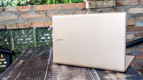 Acer Swift 3 – Gon nhe thoi trang cho doanh nhan - Anh 2