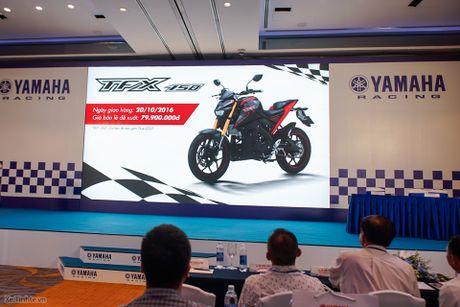 Yamaha TFX150 chot gia 79,9 trieu dong; ngay 20/10 ban ra - Anh 1