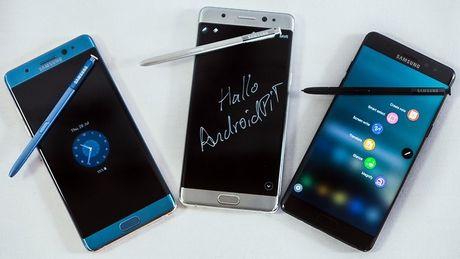 Van con hon 4.000 chiec Samsung Galaxy Note 7 chua thu hoi tai Viet Nam - Anh 1