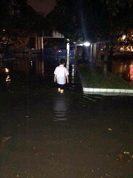 TP Ho Chi Minh lai ngap nang do trieu cuong va mua lon - Anh 17