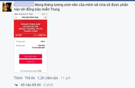 Trieu nguoi cam dong truoc so tien khung MC Phan Anh ung ho mien Trung - Anh 2