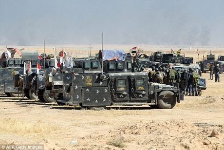 Luc luong Iraq o at tien ve Mosul, quyet tam giai phong thanh pho - Anh 11