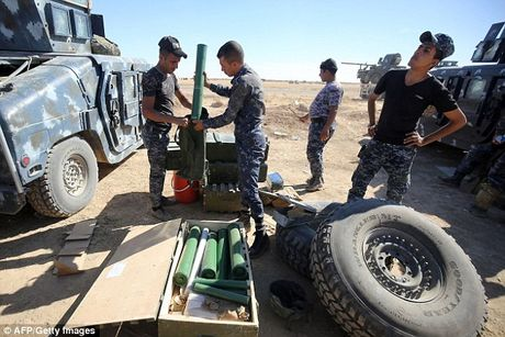 Luc luong Iraq o at tien ve Mosul, quyet tam giai phong thanh pho - Anh 13