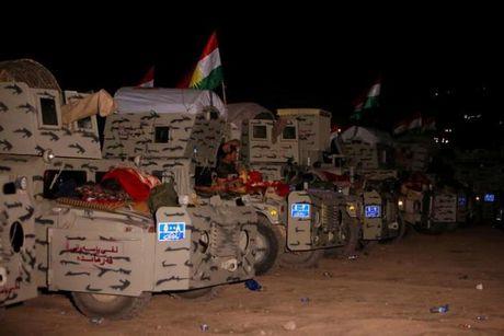 Luc luong Iraq o at tien ve Mosul, quyet tam giai phong thanh pho - Anh 1