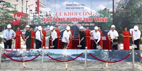 Ha Noi chi hon 2.000 ty mo rong 3,3 km duong Tam Trinh - Anh 1