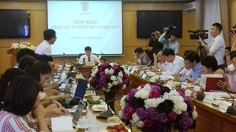 Bo Tu phap: Phat hien 30 van ban trai phap luat - Anh 1