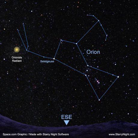 Mua sao bang Orionid 2016 dat dinh dem 20/10 - Anh 1