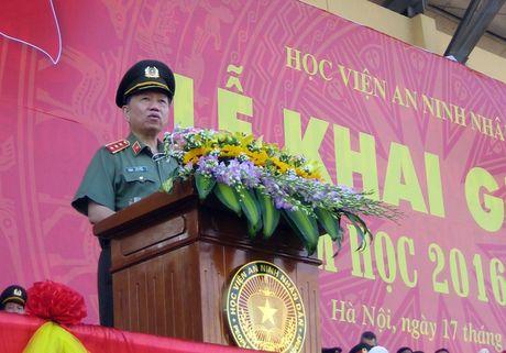 Hoc vien An ninh nhan dan khai giang nam hoc 2016-2017 - Anh 2
