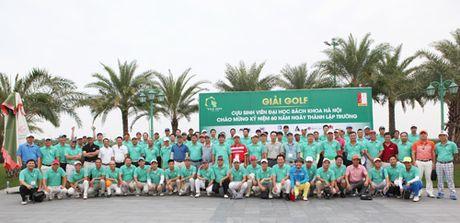 120 Golf thu quy tu tai giai Golf cuu sinh vien DH Bach Khoa - Anh 1