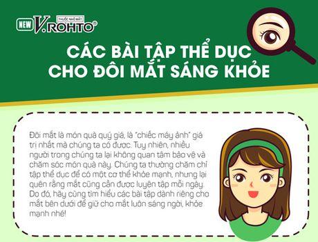 Cac bai tap the duc cho doi mat sang khoe - Anh 1