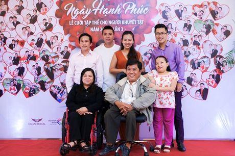 MC Thanh Bach, Dam Vinh Hung lo lang ngay hanh phuc cho nhung nguoi khuyet tat - Anh 3