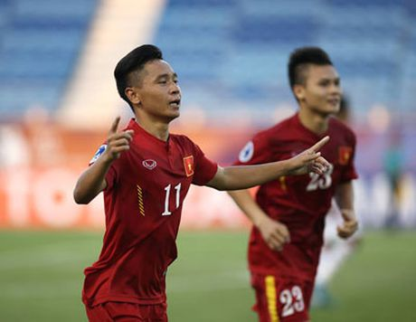 Hoa U.19 UAE 1-1, U.19 VN rong duong vao tu ket - Anh 5