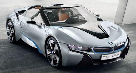 BMW i8 Roadster mui tran se chinh thuc ra mat nam 2018 - Anh 1