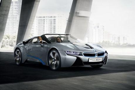BMW i8 Roadster mui tran se chinh thuc ra mat nam 2018 - Anh 4