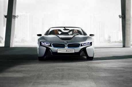 BMW i8 Roadster mui tran se chinh thuc ra mat nam 2018 - Anh 6