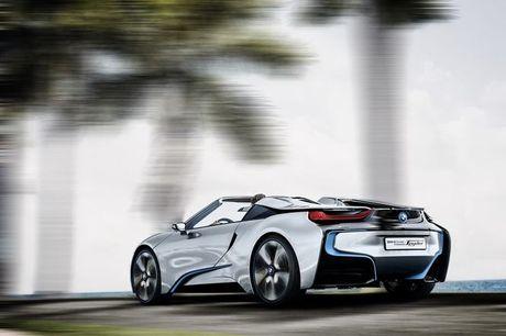 BMW i8 Roadster mui tran se chinh thuc ra mat nam 2018 - Anh 7
