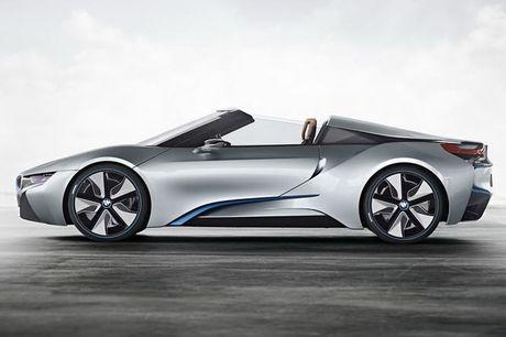 BMW i8 Roadster mui tran se chinh thuc ra mat nam 2018 - Anh 8