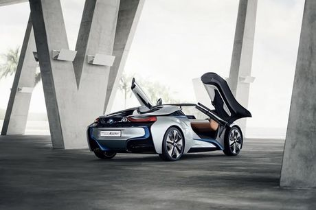 BMW i8 Roadster mui tran se chinh thuc ra mat nam 2018 - Anh 9