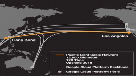 Facebook va Google hop tac dat cap quang xuyen Thai Binh Duong - Anh 1