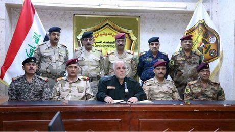 Iraq bat dau chien dich giai phong Mosul tu tay IS - Anh 1