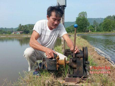 Xu ly ao dam vung nuoi thuy san sau mua lu - Anh 3