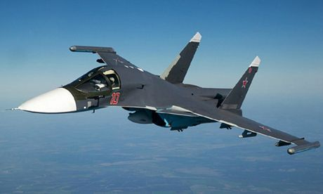 Tiem kich Su-34 Nga thanh 'xe tang bay' voi lop giap titan moi - Anh 1