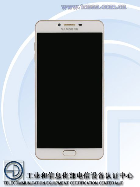 Samsung Galaxy C9 lo hinh anh thiet ke, rat giong Oppo R9s - Anh 2