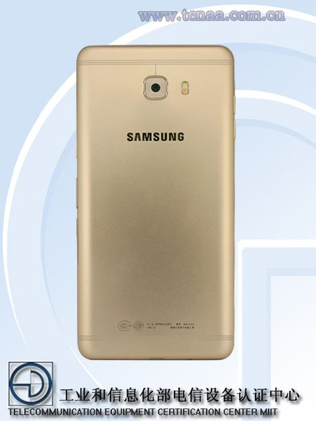 Samsung Galaxy C9 lo hinh anh thiet ke, rat giong Oppo R9s - Anh 5