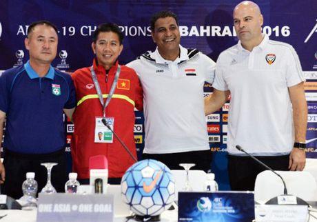 HLV Jakub Dovalil: U19 UAE du kha nang danh bai U19 Viet Nam - Anh 1