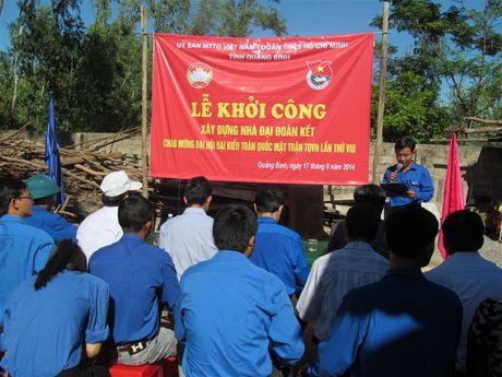 Quang Binh keu goi ung ho Quy 'Vi nguoi ngheo' - Anh 1