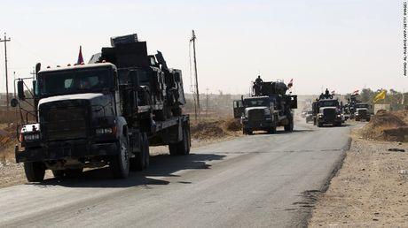 Iraq don luc tan cong thanh tri cuoi cung cua IS - Anh 1