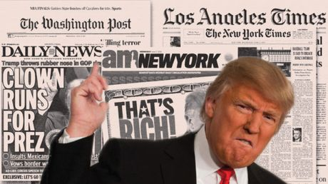 Bi doi thu dan truoc, Trump to bau cu My gian lan - Anh 1