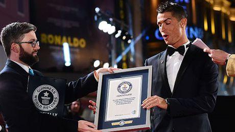 5 ky luc Guinness cua Cristiano Ronaldo - Anh 5