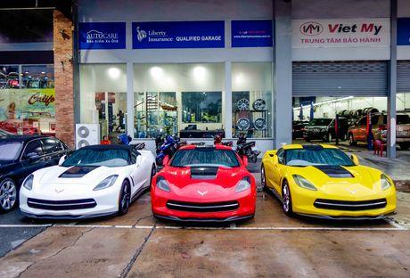 Ba xe the thao Corvette Stingray tai TP.HCM - Anh 1