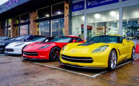 Ba xe the thao Corvette Stingray tai TP.HCM - Anh 2
