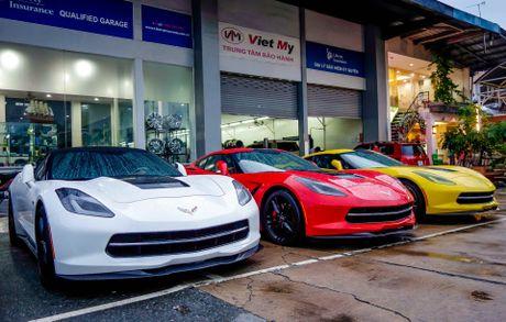 Ba xe the thao Corvette Stingray tai TP.HCM - Anh 3