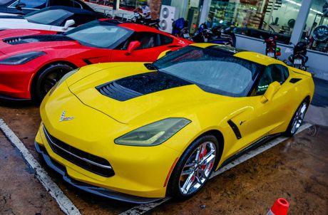 Ba xe the thao Corvette Stingray tai TP.HCM - Anh 5