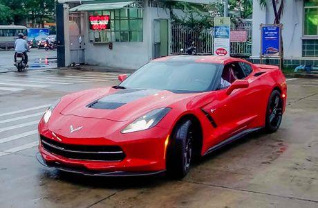 Ba xe the thao Corvette Stingray tai TP.HCM - Anh 7