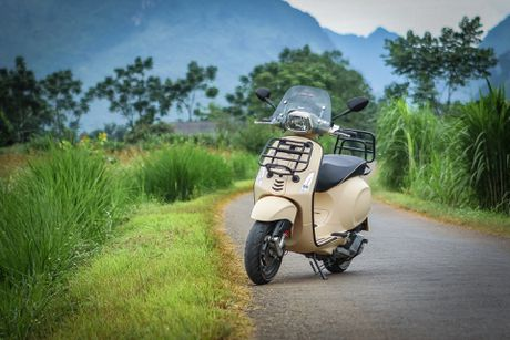 Anh Vespa Sprint ABS phien ban phuot tai Viet Nam - Anh 2