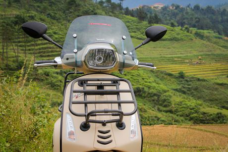 Anh Vespa Sprint ABS phien ban phuot tai Viet Nam - Anh 5