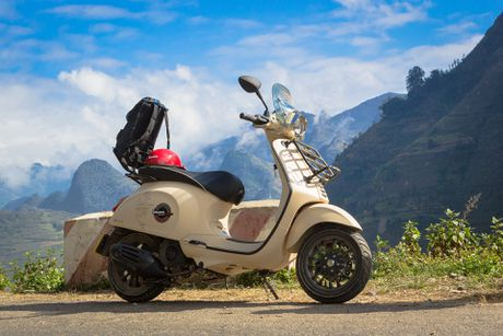 Anh Vespa Sprint ABS phien ban phuot tai Viet Nam - Anh 9
