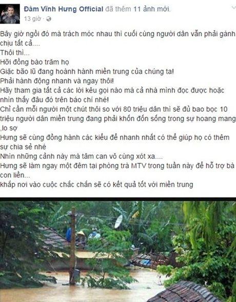 Nhung dong trang thai xot xa cua Dam Vinh Hung, Phuong Thanh - Anh 1