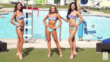 Xem man bikini ruc lua cua Nguyen Thi Loan tai Miss Grand International 2016 - Anh 1
