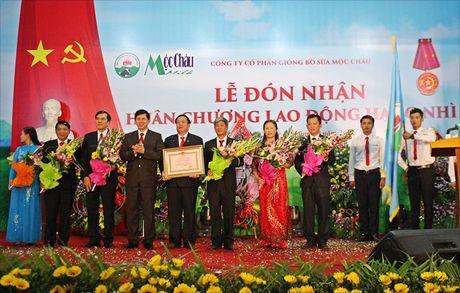 Cty CP Giong bo sua Moc Chau: Niem vui nhan doi - Anh 1