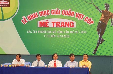Khai mac giai quan vot Khanh Hoa mo rong cup Me Trang lan thu VII - Anh 3