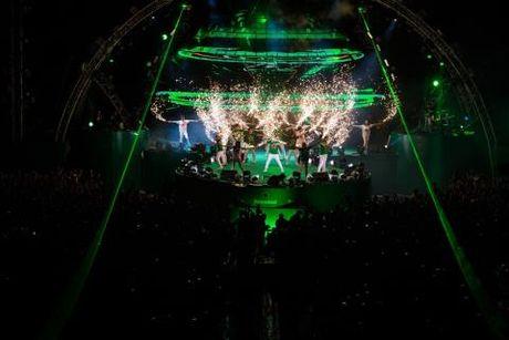 Khan gia song trong am nhac tai Heineken Green Room - Anh 1