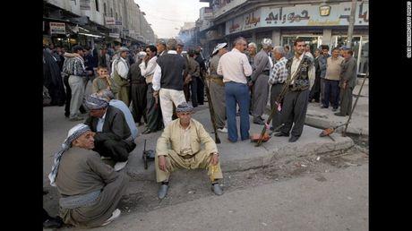 Anh Mosul-Iraq thoi chua co su hien dien cua My va luc luong co den IS - Anh 12