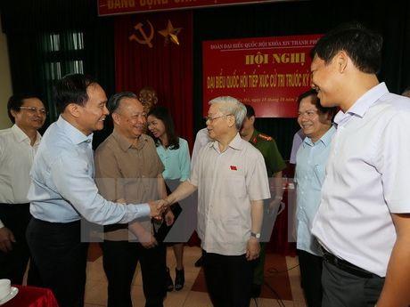 Tong Bi thu: Can bo phai guong mau, noi phai di doi voi lam - Anh 1