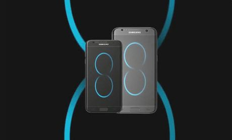Ngam Samsung Galaxy S8 Dream dep 'hon ca mo' - Anh 1